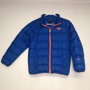 Boys North Face Puffer Coat.